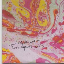 I Am Kloot-These Days Are Mine promo cd single