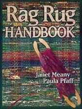 Rag Rug Handbook by Paula Pfaff and Janet Meany (1996, Paperback, Reprint)