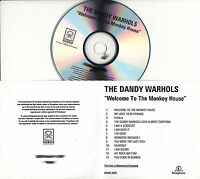 THE DANDY WARHOLS Welcome To The Monkey House UK 13-tk watermarked promo test CD