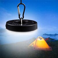 Camping Light Powered Tent Light  With Hook Flashlights Lantern LED UK