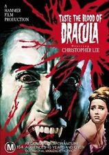 Taste The Blood Of Dracula Christopher Lee Hammer Horror Region 4 DVD VGC
