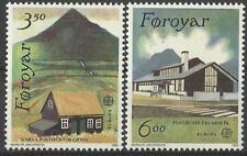 Cept 1990 ** 198-9 Färöer Satz Postfrisch siehe scan