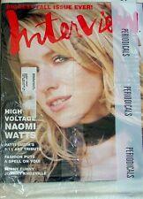MAGAZINE ~ ANDY WARHOL'S INTERVIEW September 2002 - NAOMI WATTS