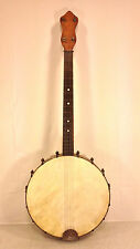 Antique 4 String Banjo No Case Unknown Maker