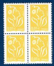 Variété Marianne de Lamouche sans phosphore 3731e ITVF GAO bloc de 4  cote:120€