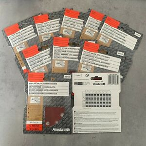 "50 Piranha X32172 115mm 4.5"" Angle Grinder Abrasive Fibre Sanding Discs 240G"