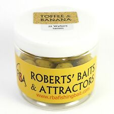 25 x RBA TOFFEE & BANANA 16mm Round Wafters Hookbaits Fishing Bait 2504357
