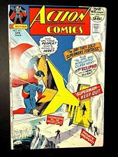 ACTION 411 (DC 4/72 9.4! non-CGC) NR! GIANT 25c SILVER-AGE SUPERMAN! SUPERGIRL!