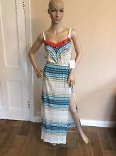 Missoni NEW BNWTS RRP £530 Knitted Maxi Dress Size 40 Uk 8-10 Knit Split Long
