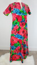 Lilly Pulitzer Vintage The Lilly 1970 Maxi Dress Hostess Gown Long Kaftan
