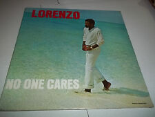"LORENZO ""NO ONE CARES"" SUPER RARE LOUNGE COVERS SOUL POP VINTAGE SEALED!!"