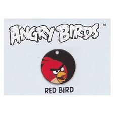 ANGRY BIRDS SERIES 1 - 5/20 Red Bird Dog Tag + Mini Sticker Sheet & Checklist