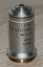 Leica microscope microscope objective C plan 100x/1,25 Oil ph3 (506073)