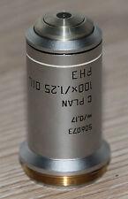 Leica Mikroskop Microscope Objektiv C Plan 100x/1,25 Oil Ph3 (506073)