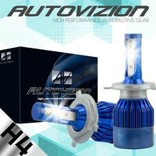 AUTOVIZION LED HID Headlight kit H4 9003 White for 1991-1991 Mercedes-Benz 350SD