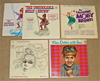SIGNED UNSINKABLE MOLLY BROWN Movie+Org.Cast &Tammy Grimes / Debbie Reynolds LPs
