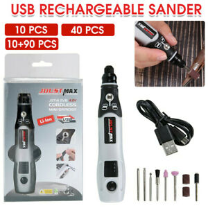 15000RPM Electric Grinder USB Mini Drill Engraving Pen Grinding Rotary Tool Set