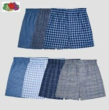 Fruit Of The Loom Mens Woven Dual Defense Relaxed fit Tartan Boxers Value Packs