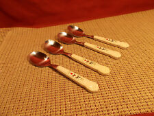"""Pfaltzgraff Dinnerware Winterberry Set of 4 Teaspoons  6 3/4"""" (Tiawan)"""