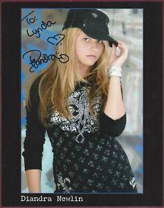 "Diandra Newlin, Actress, Signed 8"" x 10"" Photo, COA, UACC RD 036"