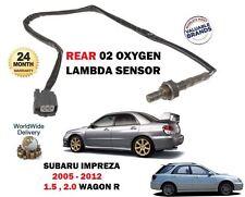 FOR SUBARU IMPREZA 1.5 2.0 WAGON R 2007-2012 REAR 02 OXYGEN LAMBDA SENSOR
