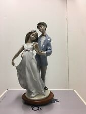 """LLadro """"Now and Forever"""" #7642 Mint Condition with Original Box Anniversary"""