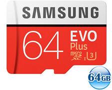 SAMSUNG CLASS10 microSDXC EVO PLUS 64GB 64G micro SD micro SDXC U3 4K 100MB/s*