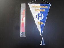 220415 TSV Hohenfeld alter bestickter Wimpel RARE