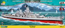 COBI Battleship USS Iowa BB-61/ Missouri BB-63 / 4812 / 2410 WWII Small Army