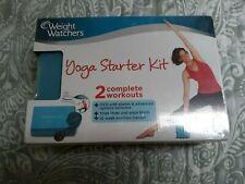 -New sealed Weight Watchers Yoga Starter Kit