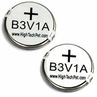 High Tech Pet Products 2 batteries for Power Pet Collars MS-4 or MS-5