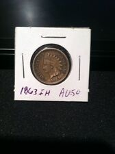 1863 INDIAN HEAD CENT 1c 152 YEARS OLD COPPER Civil War Era FREE SHIPPING!