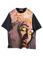 Christopher Kane Scream With Fangs Print Oversized T-shirt