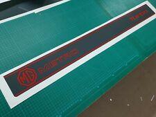 Austin MG Metro turbo tailgate stripe & decals restoration stickers 1300