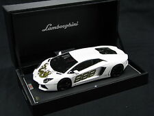 MR Lamborghini Aventador LP700-4 Dragon Version 1:18 #888 White