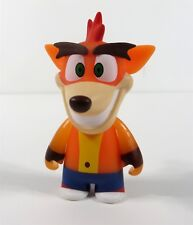 Kidrobot Crash Bandicoot Vinyl Mini Series Crash Glow In The Dark Figure New