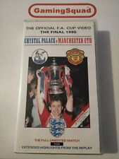 The Official FA Cup Final 1990 VHS Video PAL, Supplied by Gaming Squad