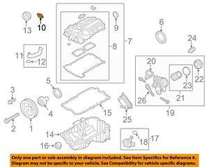 BMW OEM 11-17 X3 3.0L-L6-Valve Cover Flange 11377502022