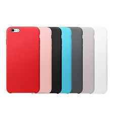 Moderno De lujo Cuero Real Funda Carcasa para Apple iPhone 6 6s/6s Plus