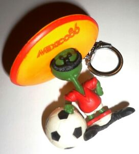 1986 FIFA World Cup MEXICO Official PIQUE MASCOT FIGURE KEYCHAIN Mexico86 No2