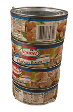 Hormel Premium Chicken Breast 4 Cans 98% Fat Free Large Cans 10 oz Each