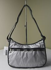 LeSportsac Full Moon Lighting Silver 7520 Classic Hobo Shoulder Bag