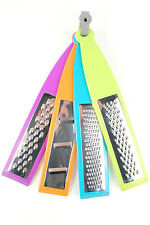4 Piece Kitchen Grater, Cheese Grater, Chocolate, Fruit, Vegetable Grater