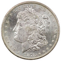 1878-S $1 Morgan Silver Dollar Uncirculated BU Coin SKU40612