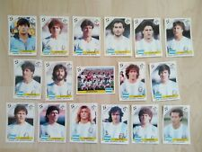 Panini World Cup Story Sonric'S équipe complète ARGENTINE avec Maradona ITALIE 9