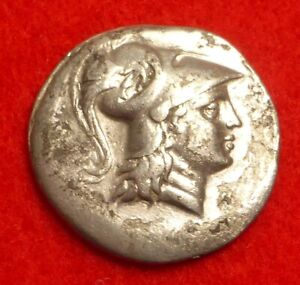 Lovely Silver Greek Tetradrachm