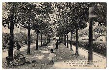 CPA 92 - LEVALLOIS-PERRET (Hauts de Seine) - 3939. Les Jardins de la Mairie