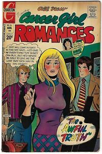 Career Girl Romances #70 - Art Cappello cover and art - David Cassidy poster