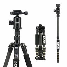 Portable Carbon Fiber Camera Tripod Lightweight Monopod for Canon DSLR Camera