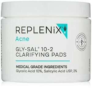 Replenix Gly-Sal 10-2 Clarifying Acne Pads - New Look Packaging May Vary